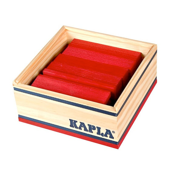 Kapla Red Block Set