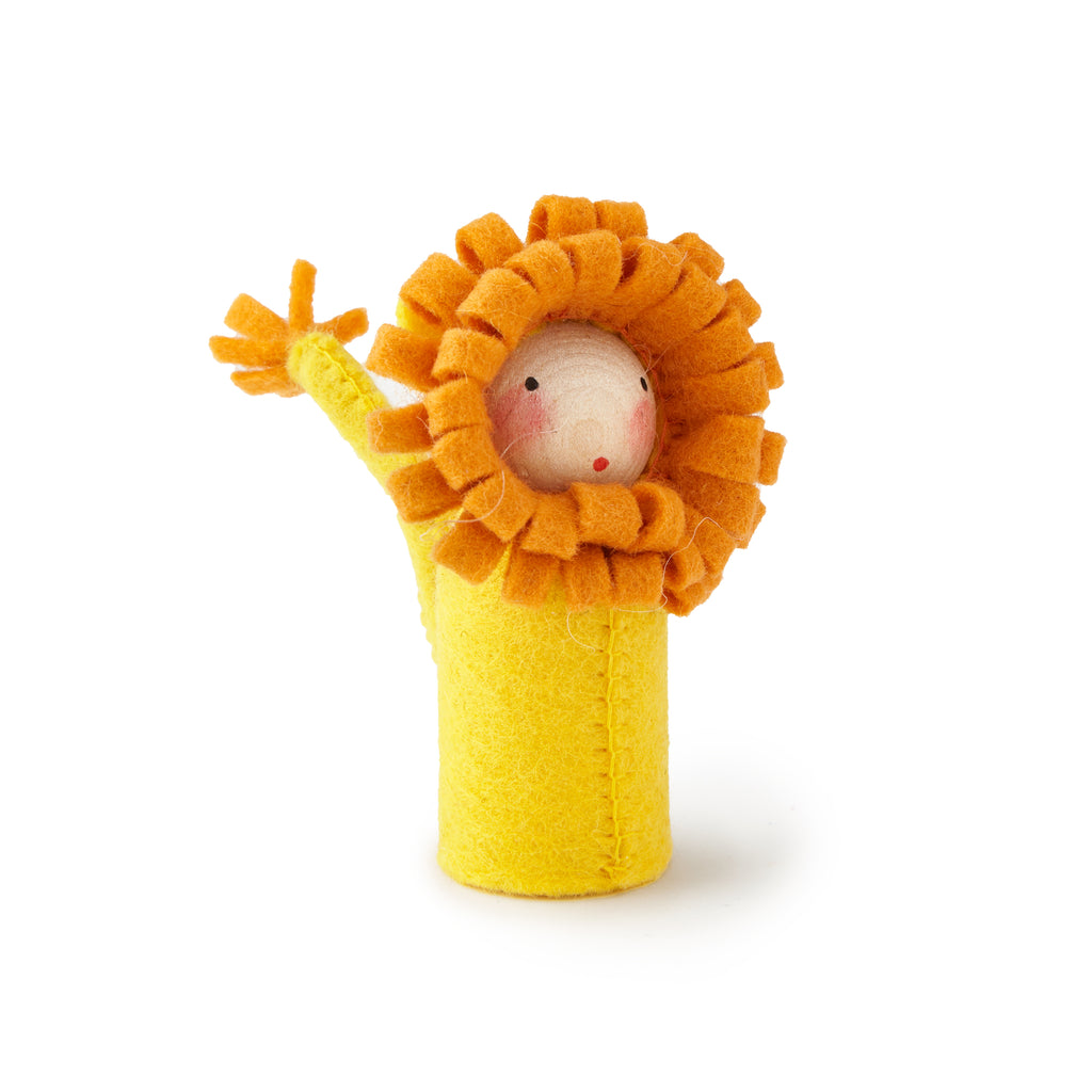 Peg Doll in Lion Costume