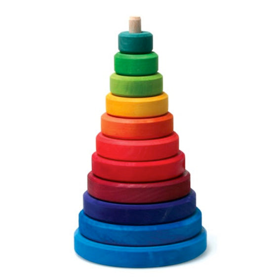 Rainbow Stacking Cone