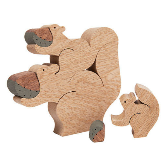 Wooden Squirrel Puzzle