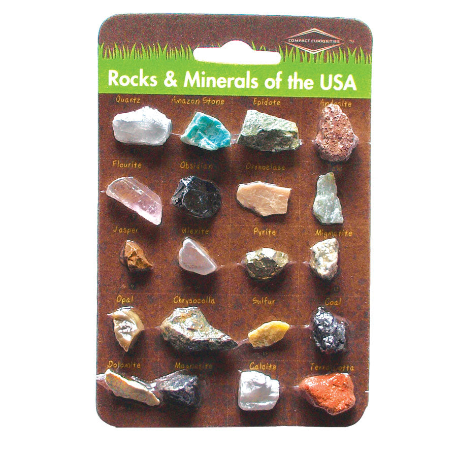 Rocks and Minerals of the US