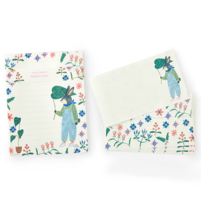 Aiko Fukawa Rabbit Letter Set