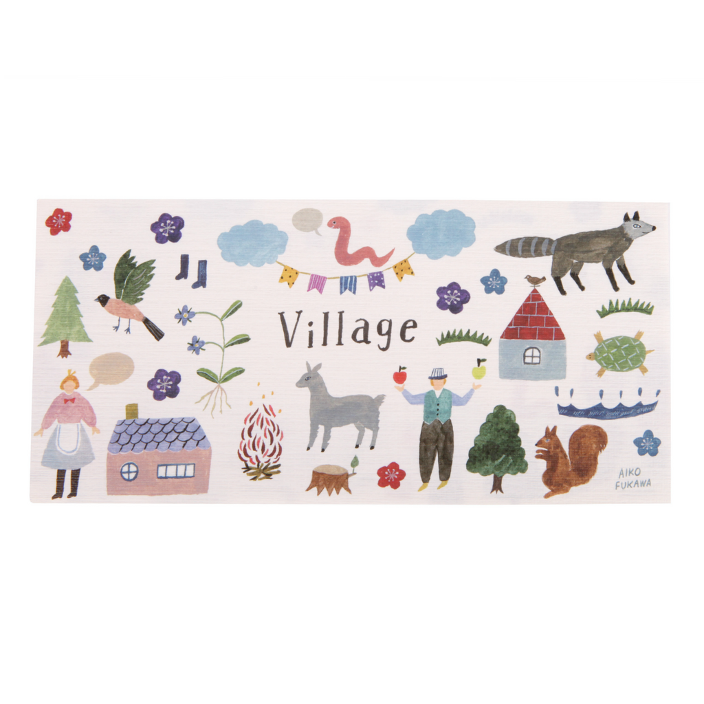 Aiko Fukawa Village Notepad