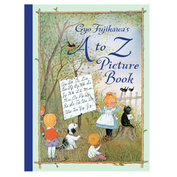 A to Z Picture Book by Gyo Fujikawa