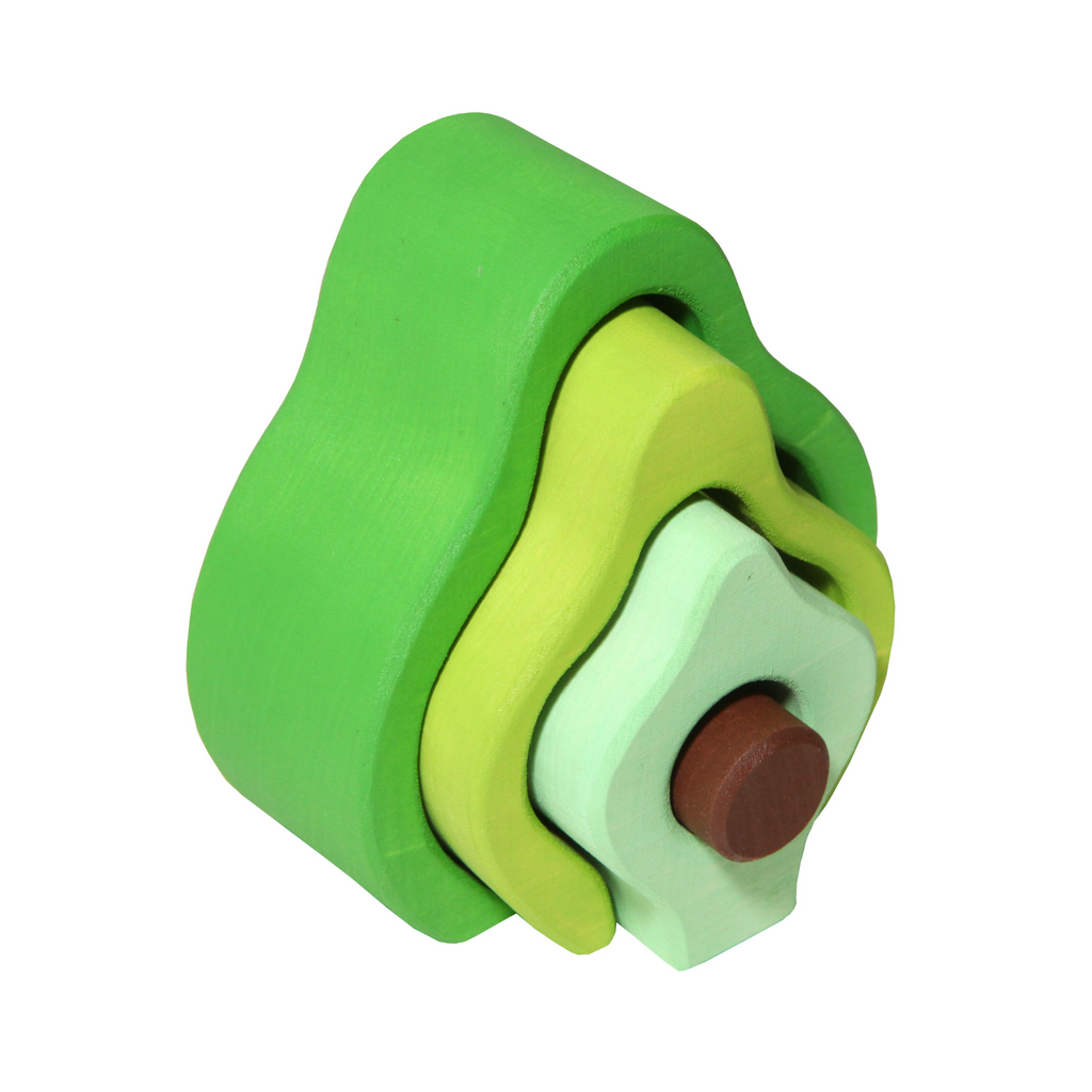 Avocado Stacking Toy