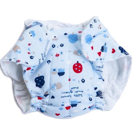 Doll Diaper · Blue