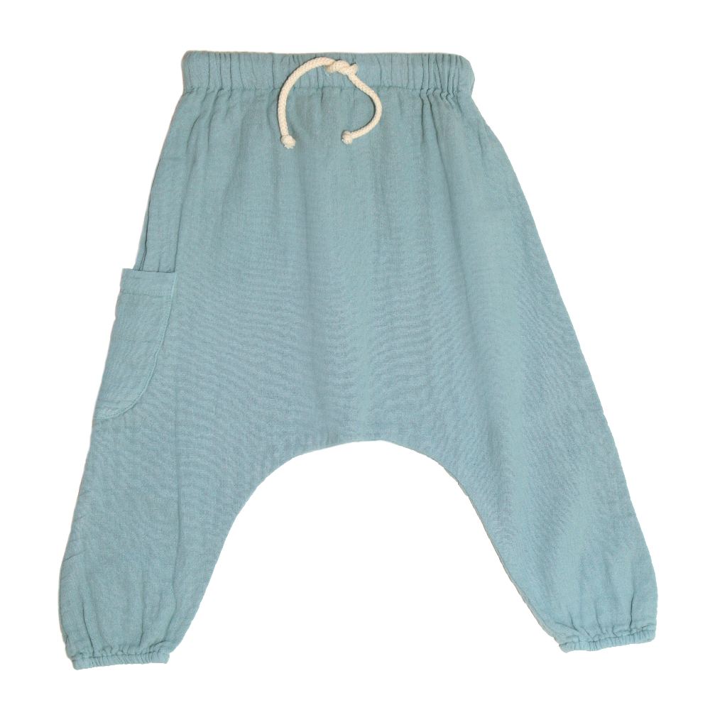 Boy + Girl Azure Harem Pants