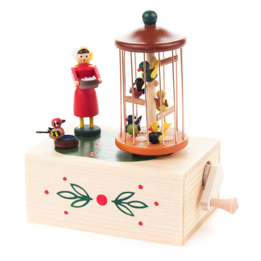 Birdcage Music Box