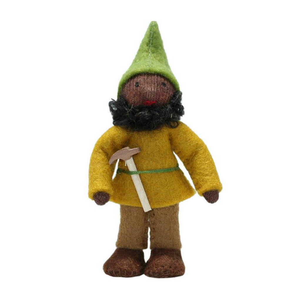 Black Forest Gnome with Hammer