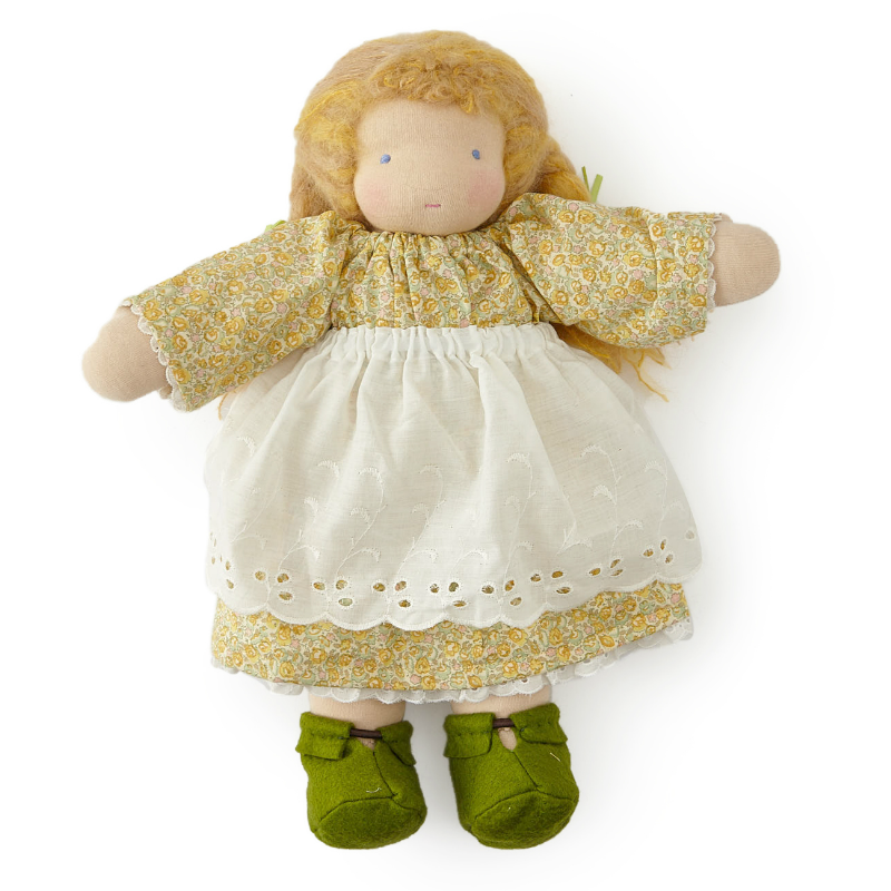 "16"" Blonde Haired Waldorf Doll"