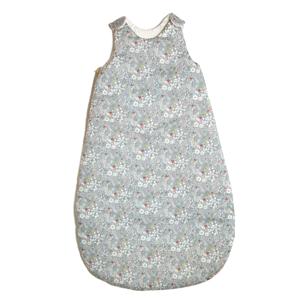 Smidge Handmade Liberty Sleepsack · Blue Meadow