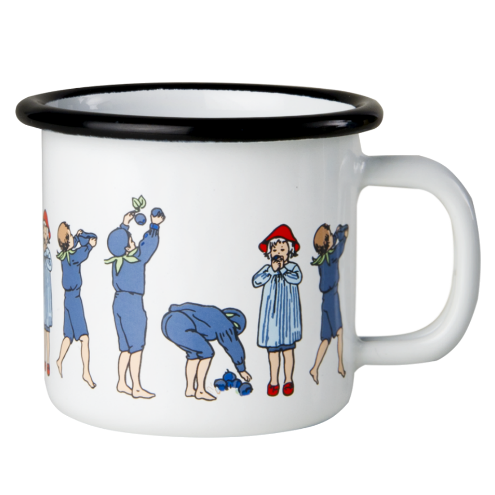 Elsa Beskow Blueberry Children's Mug