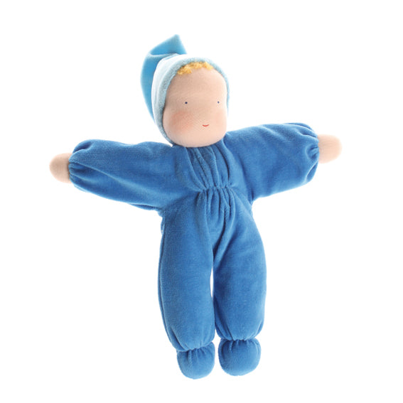 Waldorf Blue Plush Doll