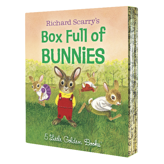 Box Full of Bunnies by Richard Scarry