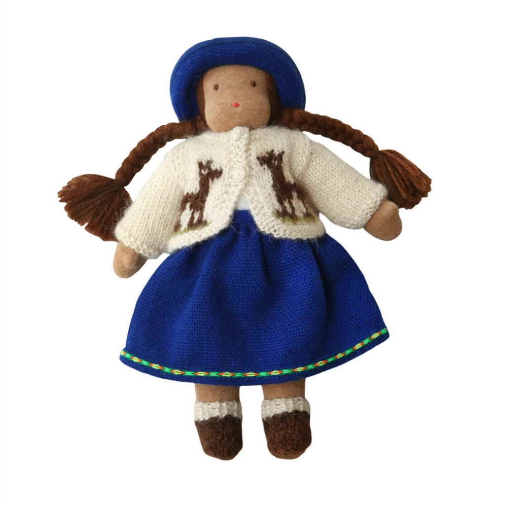 Waldorf Doll · Brown Girl