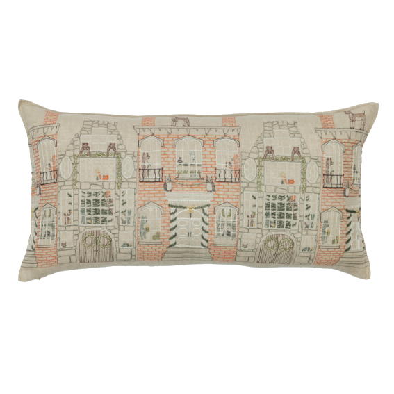 Coral and Tusk Home for the Holidays Lumbar Pillow