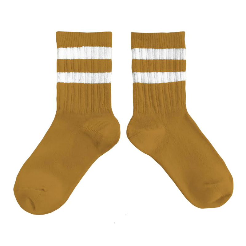 Collegien Mustard Varsity Knee High Socks