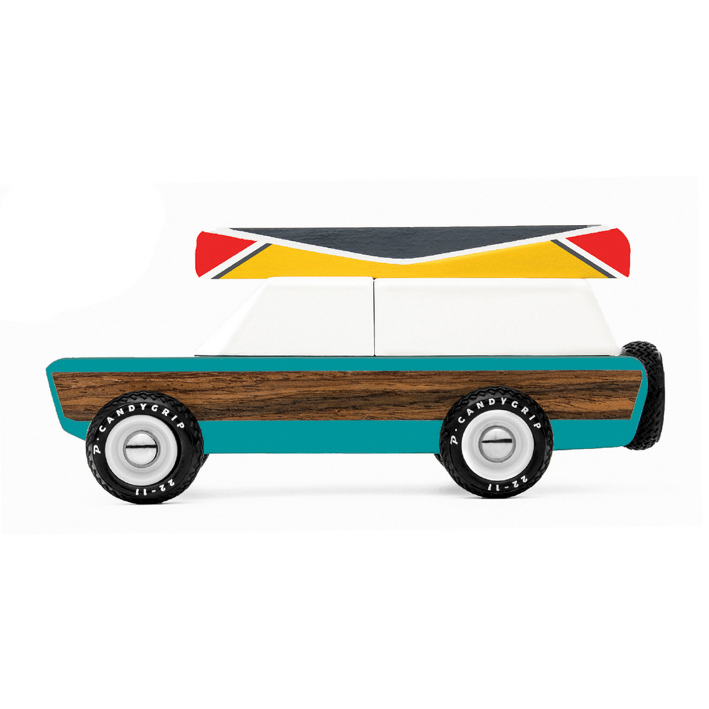 Candylab Pioneer Aspen Station Wagon with Canoe