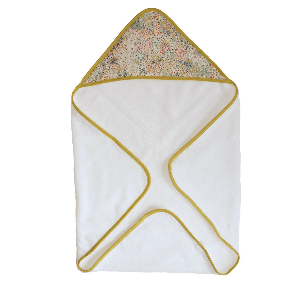 Multicolored Star Bath Cape
