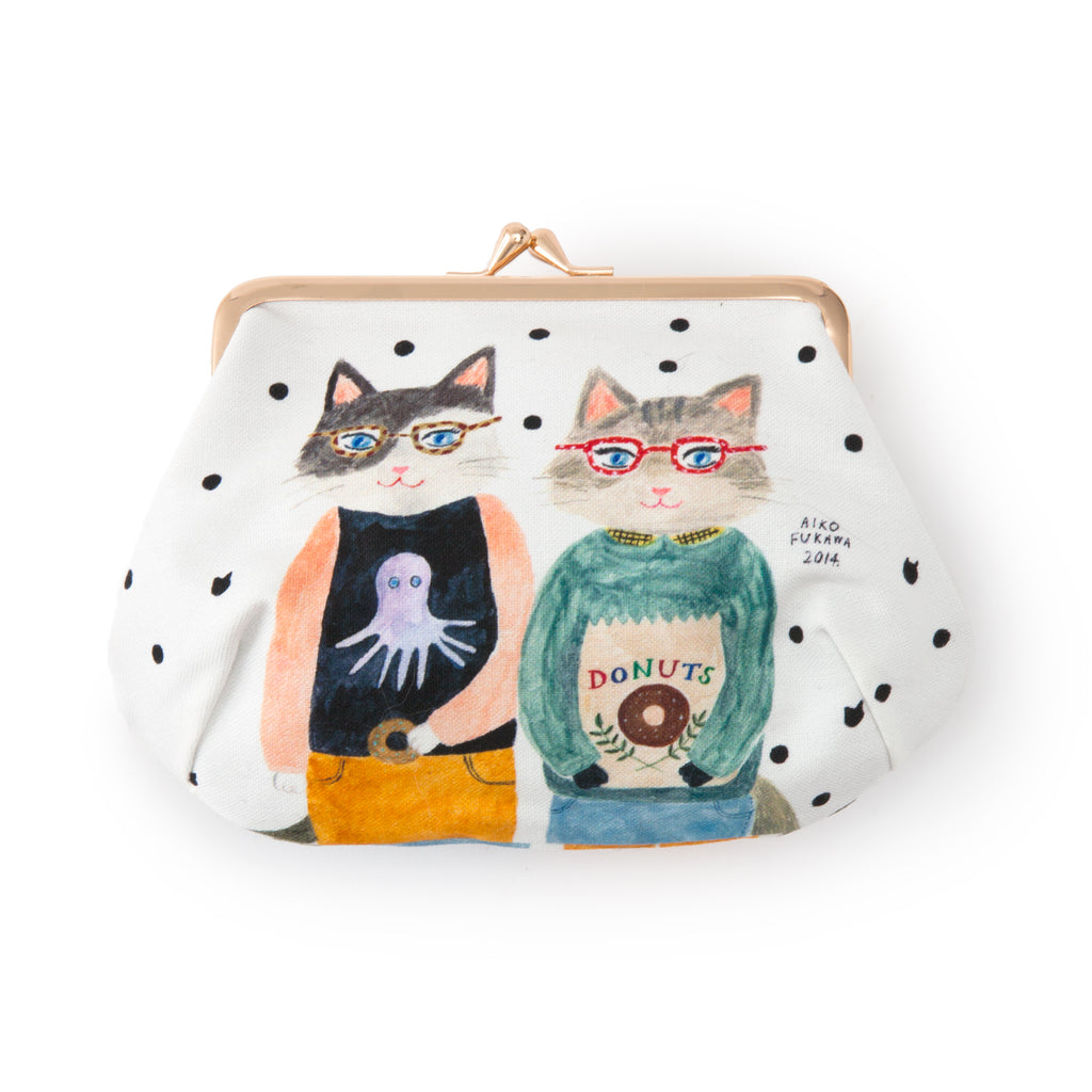 Aiko Fukawa Cat Friends Coin Purse