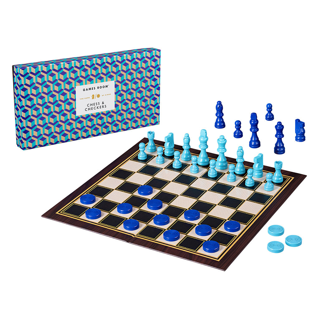 Ridley's Chess and Checkers Set