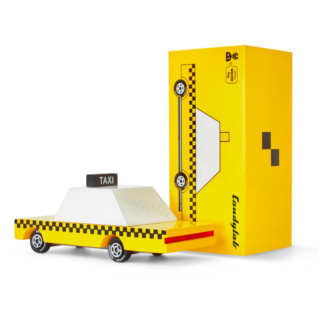 Candylab Small Yellow Taxi