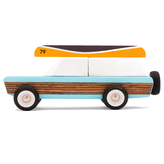 Candylab Pioneer Station Wagon with Canoe