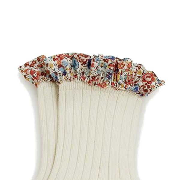 Collegien Liberty Ruffle Socks