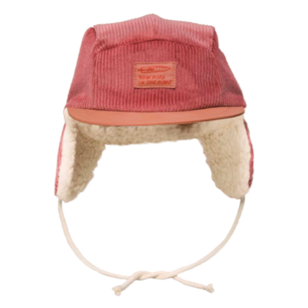 New Kids in the Hood Cranberry Winter Cap