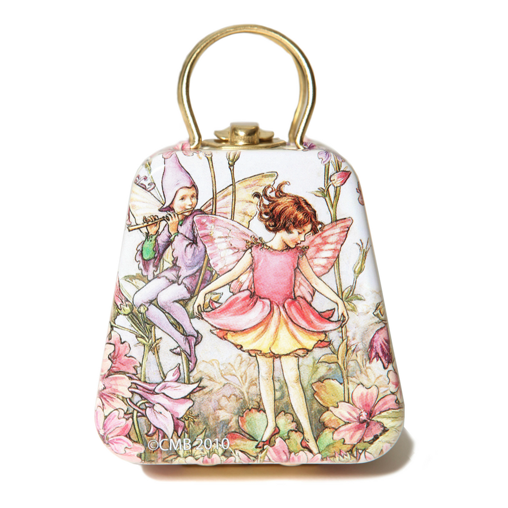 Columbine Flower Fairy Tin Mini Purse