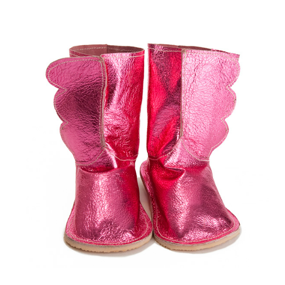 Wing Boots · Pink - 18-24 months