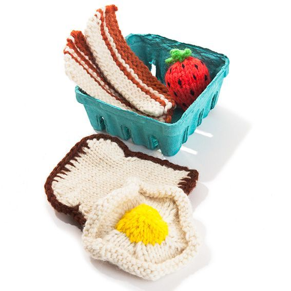 Knit Breakfast Set