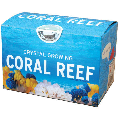 Crystal Growing Coral Reef