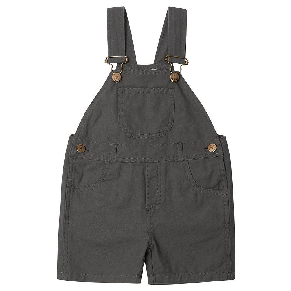 Dotty Dungarees Olive Green Overalls