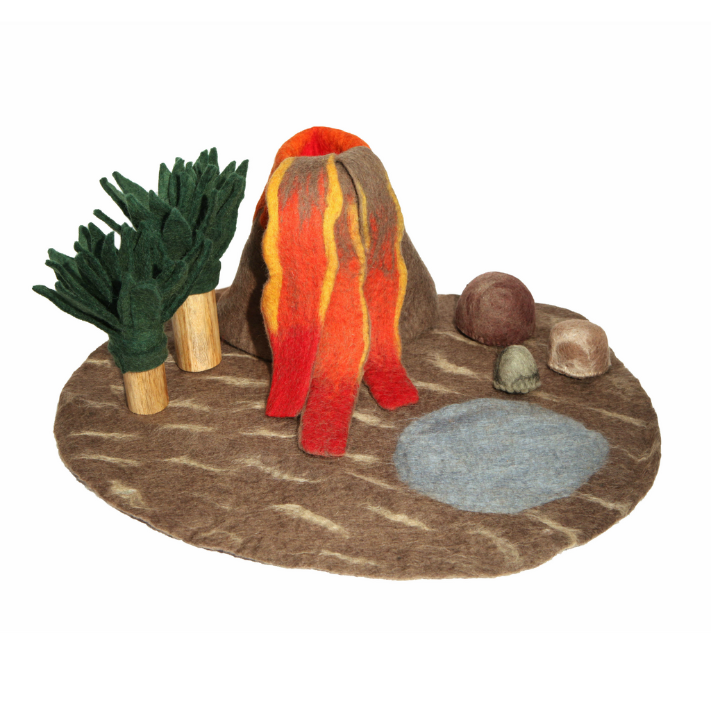 Papoose Volcano Play Mat