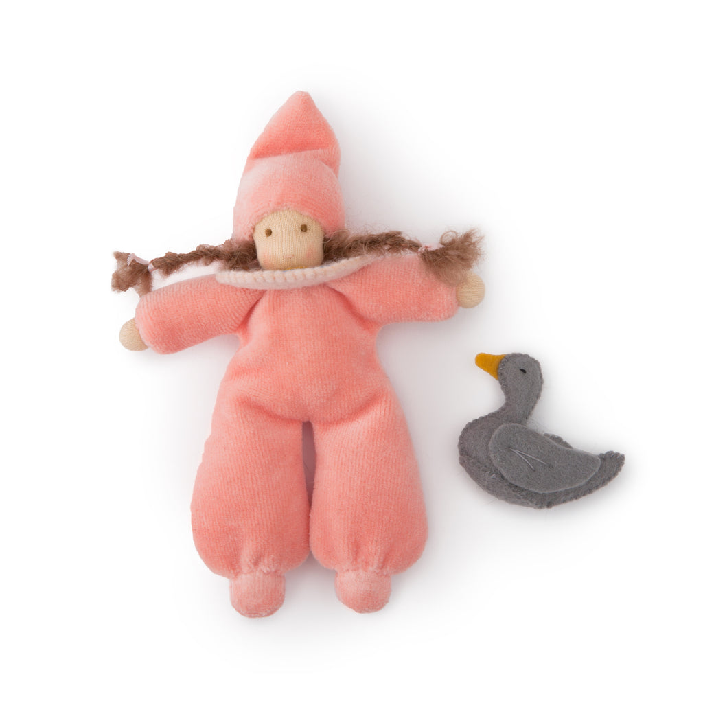 Waldorf Baby Doll with Duck