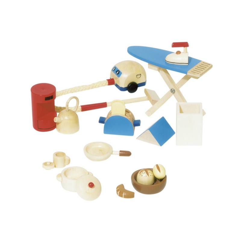Dollhouse Kitchen Accessories Set
