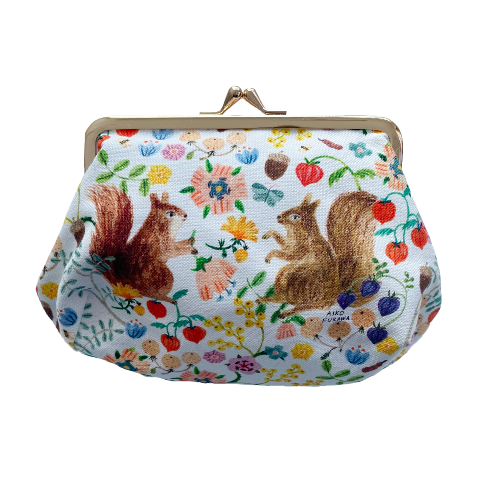Aiko Fukawa Double Squirrel Coin Purse