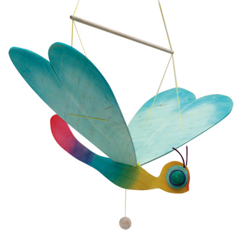 Ostheimer Wooden Dragonfly Mobile