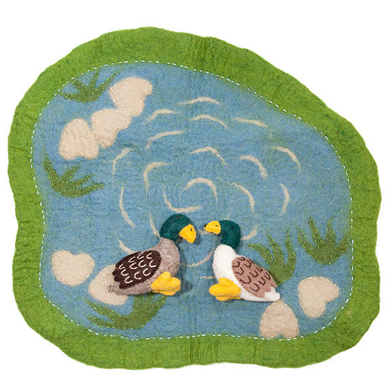 Papoose Felted Duck Playmat