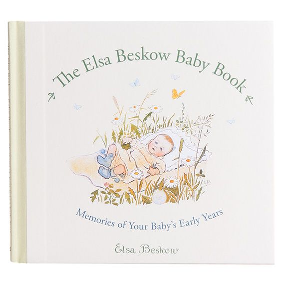 The Elsa Beskow Baby Record Book