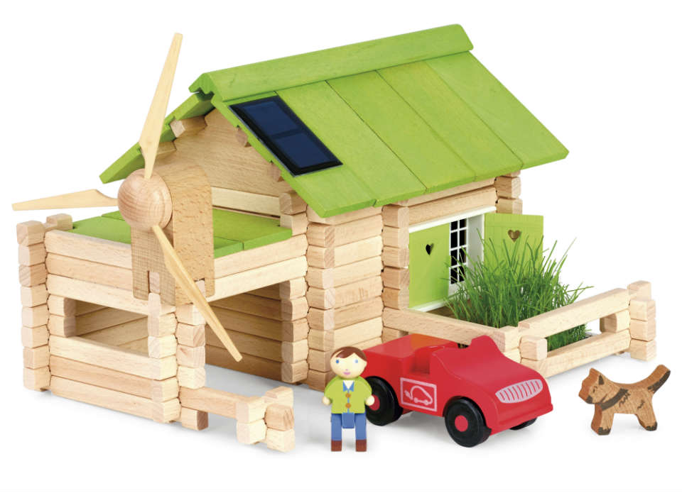Build Your Own Eco Chalet