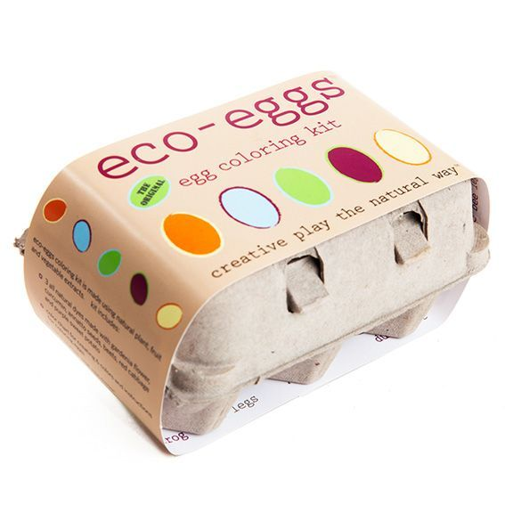 Eco Eggs Egg Coloring Kit