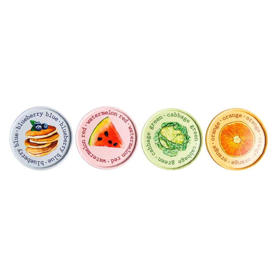 Eco Kids Fruits and Veggies Finger Paint