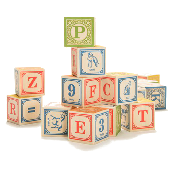 Uncle Goose English Alphabet Blocks