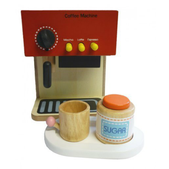 Wooden Espresso Maker Set