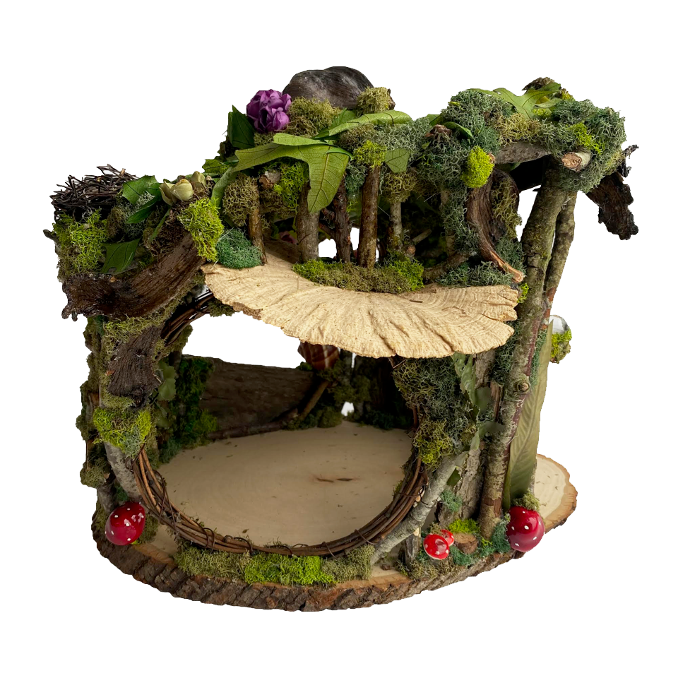 Small Fairy House with Ladder