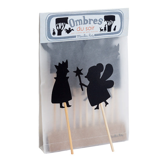 Moulin Roty Fairytale Shadow Puppet Set
