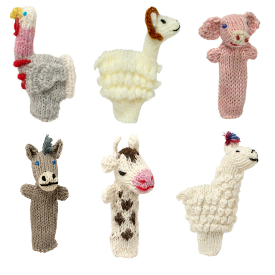 Farm Finger Puppet Set  - farmfinger1