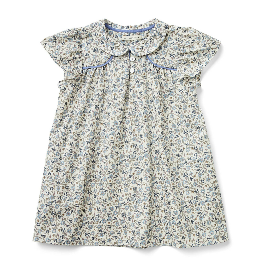 Soor Ploom Floral Liberty Print Pilomena Dress
